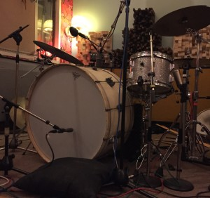 Drum recording kit